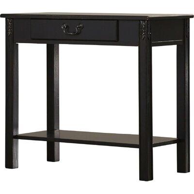 Heisler Console Table Color: Black