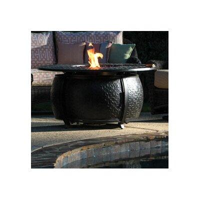 Massengill Aluminum Gas Fire Pit Table