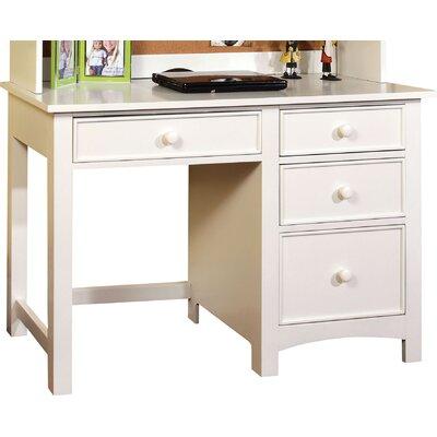 Halvorson Computer Desk Color: White