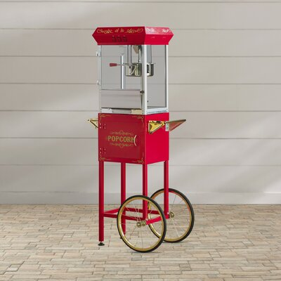 Lincoln 8 oz Wendover Popcorn Popper Machine Color: With Cart