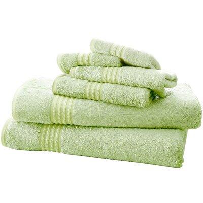 Baumgarten 6 Piece Rayon from Bamboo Towel Set Color: Sage