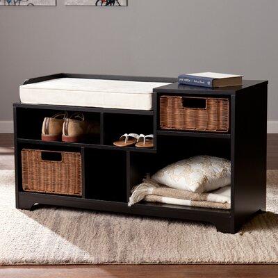 Conde Wood Storage Bench