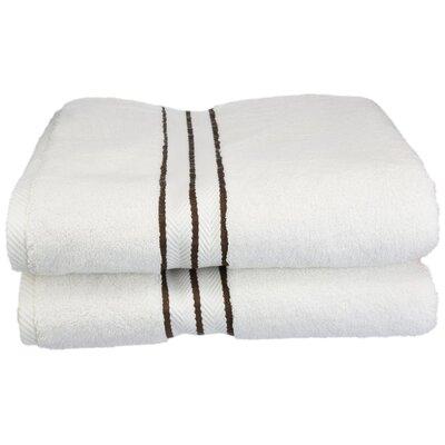 Hotel 100% Cotton Bath Towel Color: Chocolate