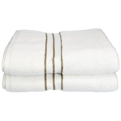 Hotel 100% Cotton Bath Towel Color: Latte