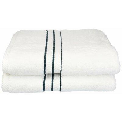 Hotel 100% Cotton Bath Towel Color: Teal