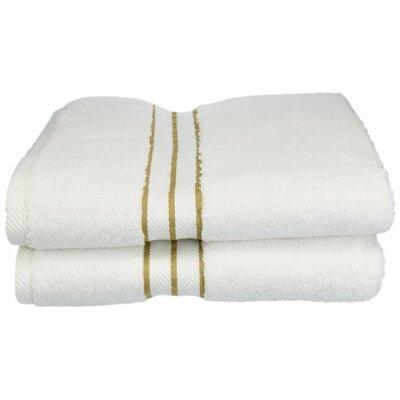 Hotel 100% Cotton Bath Towel Color: Toast