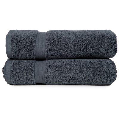 Morton 100% Cotton Hand Towel Color: Grey