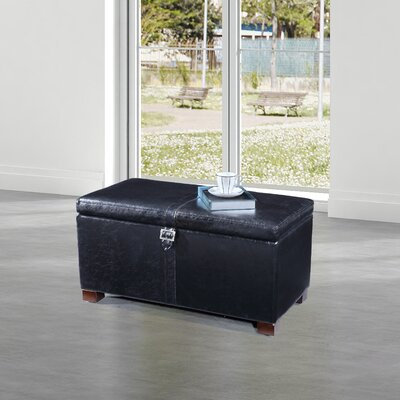 Dail Storage Bench Color: Navy