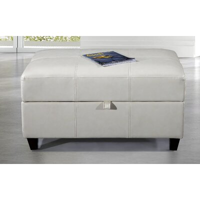 Dail Storage Bench Color: White