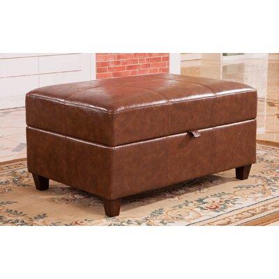 Dail Storage Bench Color: Medium Brown