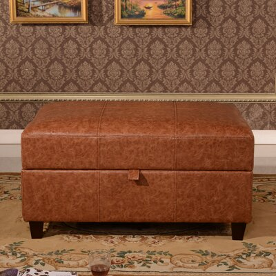 Dail Storage Bench Color: Rustic Tan