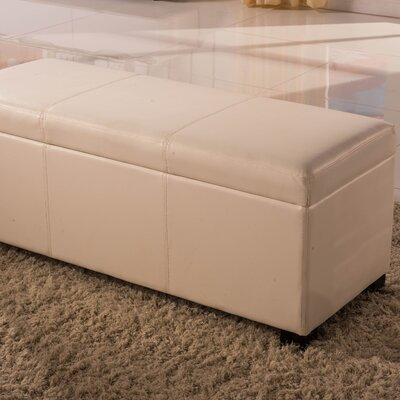 Dail Storage Bench Color: Beige