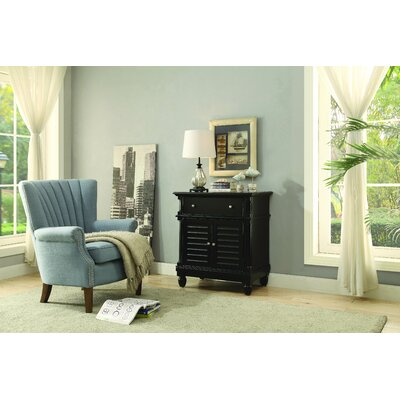 Berwyn Accent Cabinet Color: Black
