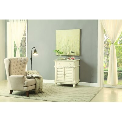 Berwyn Accent Cabinet Color: White
