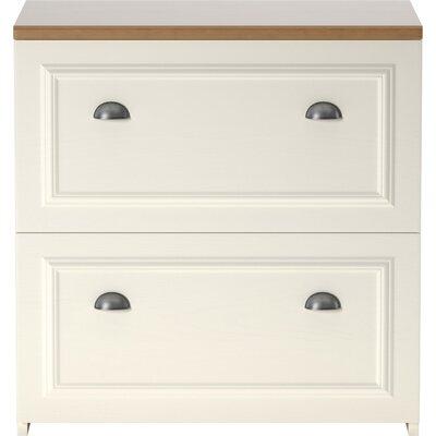 Oakridge 2-Drawer Lateral Filing Cabinet Finish: Antique White