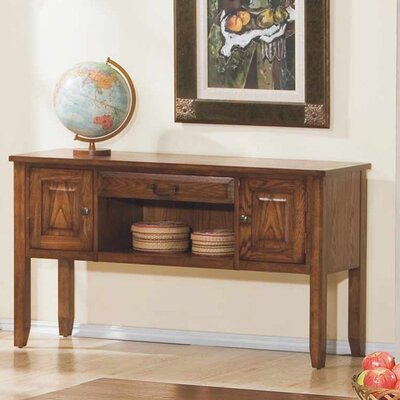 Schueller Console Table Color: Medium Oak