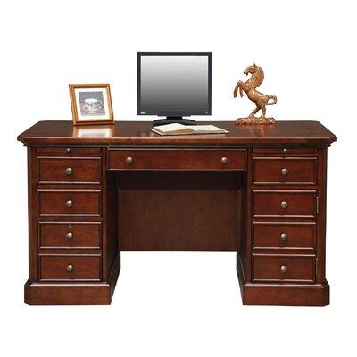 "Spielman Computer Desk Size: 30.5"" H x 57"" W x 27"" D"