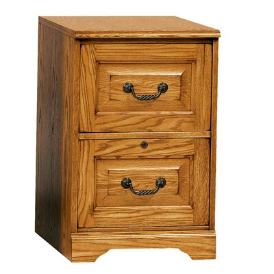 Southview 2-Drawer File Finish: Light Oak
