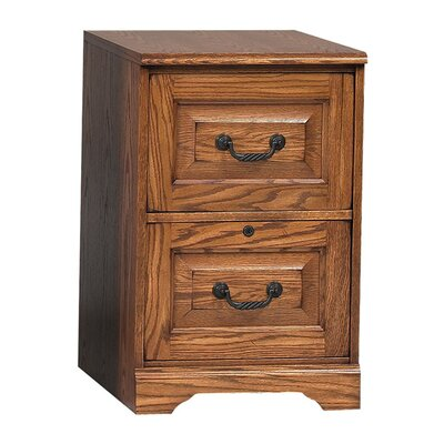 Southview 2-Drawer File Finish: Dark Oak