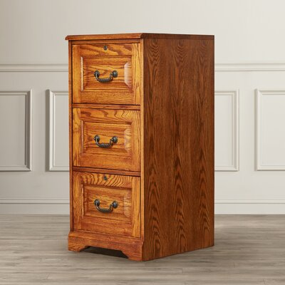 Southview 3-Drawer Vertical File Finish: Dark Oak