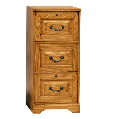 Southview 3-Drawer Vertical File Finish: Light Oak