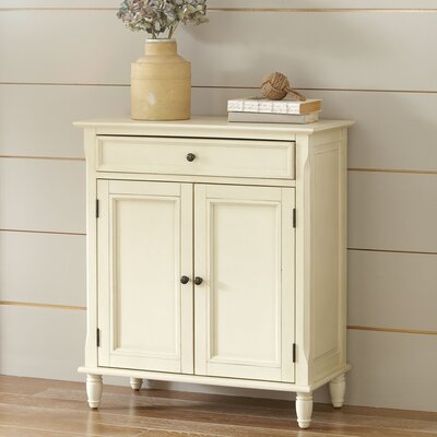 Durgan Accent Cabinet Color: Ivory