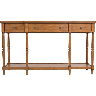 Ringwood Console Table Color: Light Walnut