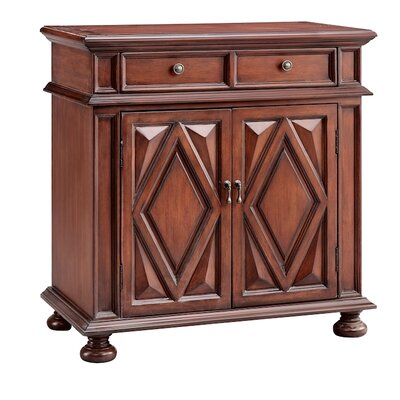 Arley 2 Drawer Accent Cabinet