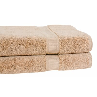 Bloomberg Terry Cloth Bath Towel Color: Latte