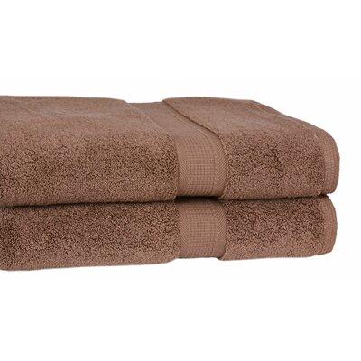 Bloomberg Terry Cloth Bath Towel Color: Cocoa