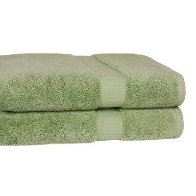 Bloomberg Terry Cloth Bath Towel Color: Sage