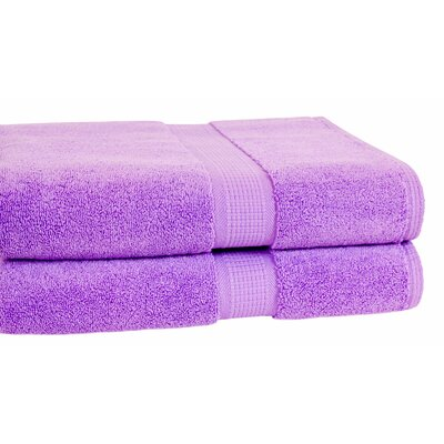 Bloomberg Terry Cloth Bath Towel Color: Lilac