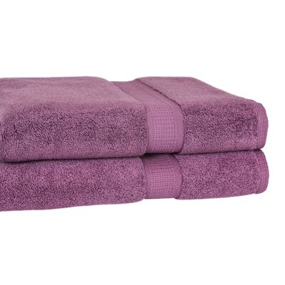 Bloomberg Terry Cloth Bath Towel Color: Amethyst