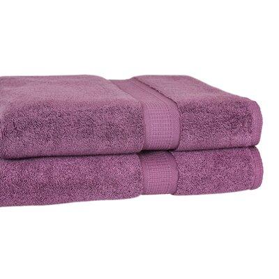 Bloomberg Terry Cloth Bath Towel Color: Amethyst