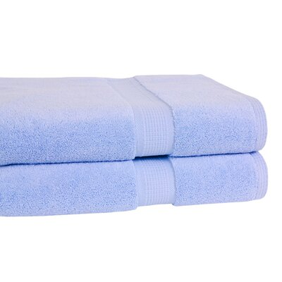 Bloomberg Terry Cloth Bath Towel Color: Sky Blue