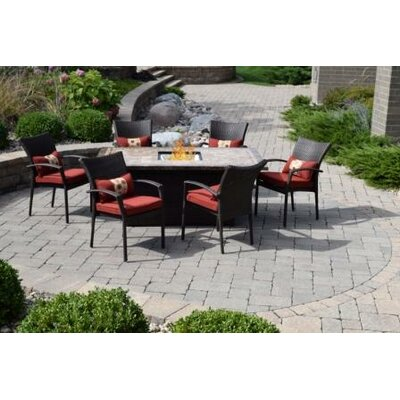 Hebert 7 Piece Dining Set