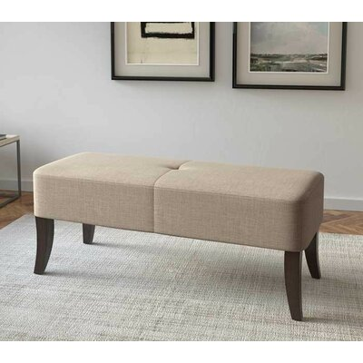 Dumbarton Upholstered Bench Upholstery: Beige
