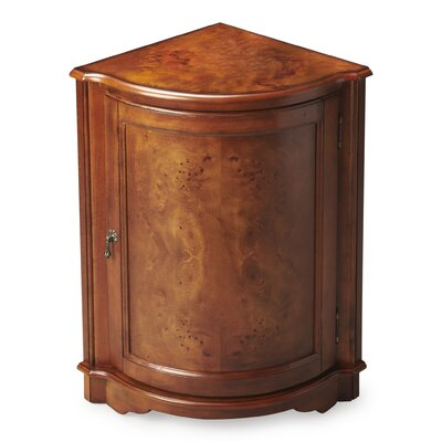 Black Mesa Corner Accent Cabinet