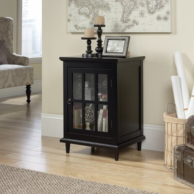 Covington Accent Cabinet Color: Black