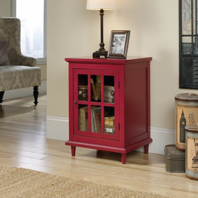 Covington Accent Cabinet Color: Berry Red