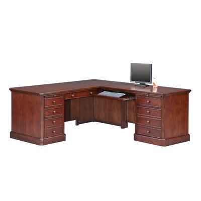Spielman L-Shape Executive Desk