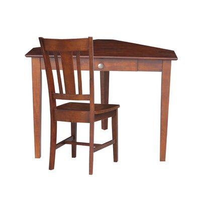 Bovingdon Storage Drawer Corner Desk Accessory: With Chair