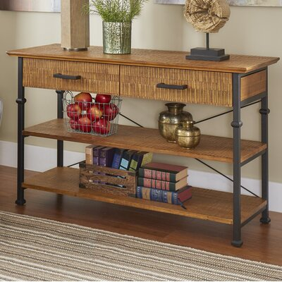 Roxborough Console Table Color: Oak