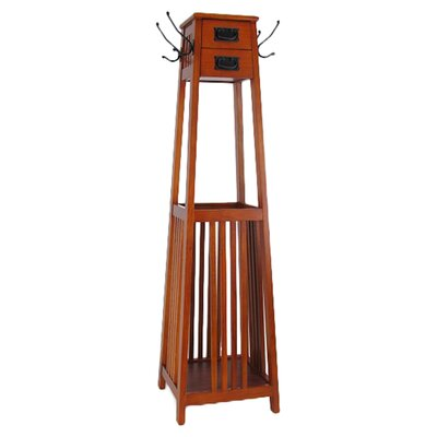 Vertical Squared Legs Coat Stand