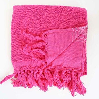 Hudgens Hands 100% Cotton Hand Towel (Set of 2) Color: Fushia