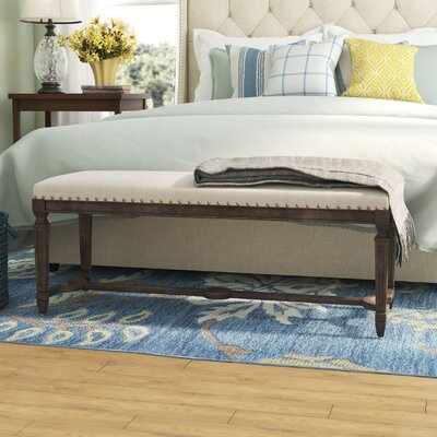 Grayson Upholstered Bench