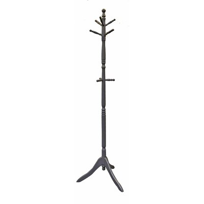 3 Tier Coat Rack Finish: Silver