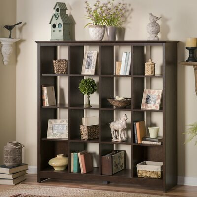 Fralick Cube Unit Bookcase Finish: Classic Black