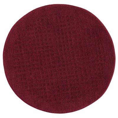 Berkine Bath Rug Color: Cabernet