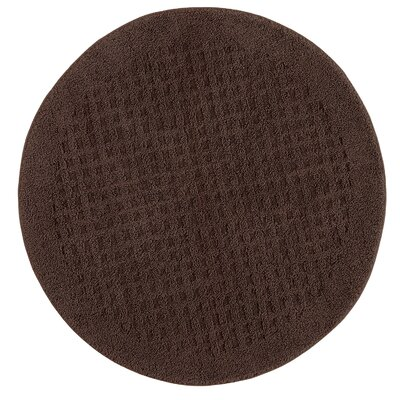 Berkine Bath Rug Color: Chocolate